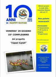 2008-2018: 10 anni di Happy Kayak!
